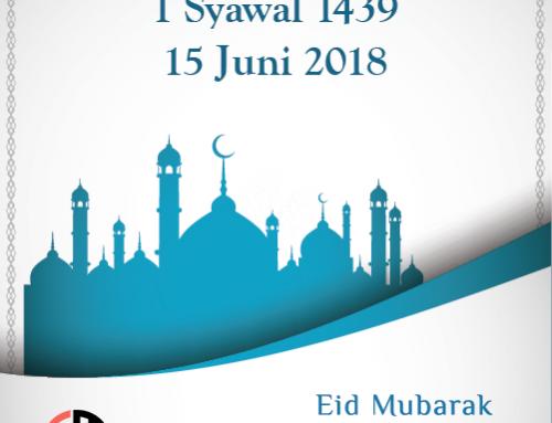 1 Syawal 1439 H / vrijdag, 15 Juni 2018