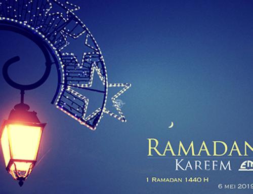 1 Ramadhan 1440 H / Maandag, 6 Mei 2019