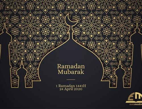 1 Ramadan 1441H / vrijdag, 24 april 2020
